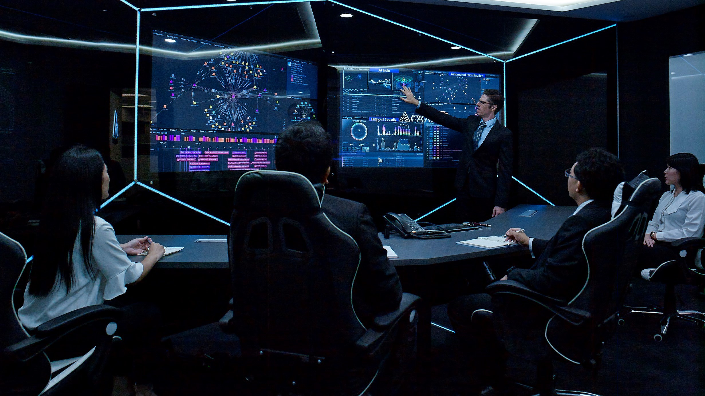 Cybot Cycarrier Security Operations Center