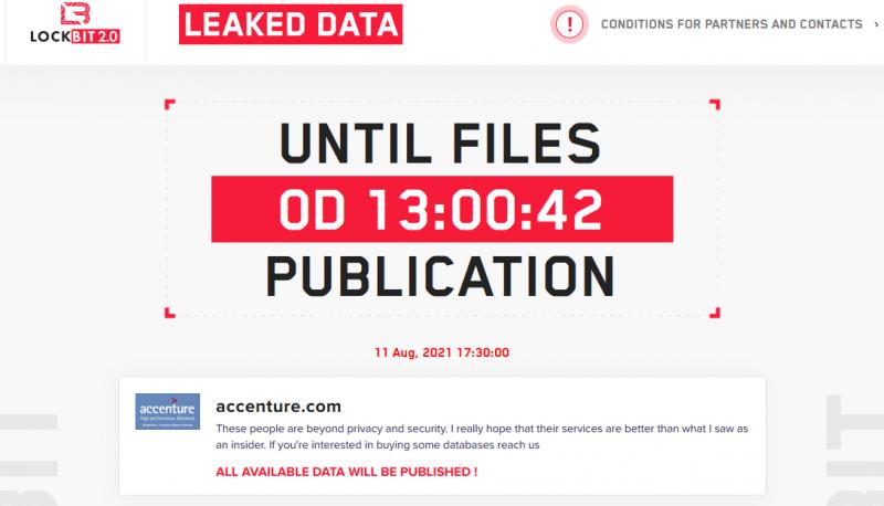 LockBit Countdown Screen Capture
